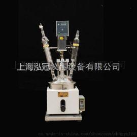 单层玻璃反应釜品质保证F-1L质量保证