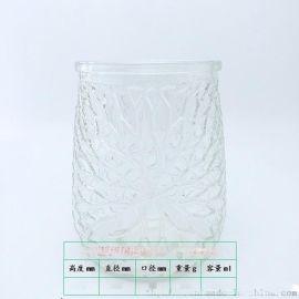 玻璃燭臺 蠟燭罐