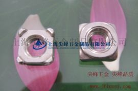 GB13680-B形焊接方螺母,304焊接方螺母