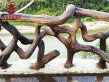 雅安實木欄杆廠家,公園欄杆河道護欄定製廠家