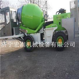 批发铲车斗式液压搅拌机 移动式搅拌装载一体机