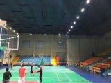室内篮球场羽毛球场LED灯 篮球场馆怎么布置灯具