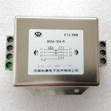 交流三相电源滤波器伺服变频器抗干扰端子台安装新品