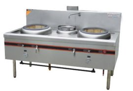 成都厨房设备厂家供应双炒一吊炉灶