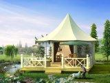 張拉膜帳篷式酒店木屋歐美風情