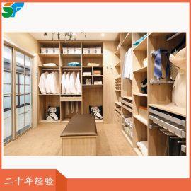 整體實木衣櫃衣帽間全屋定制家具廠家直銷