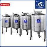 廠家定製不鏽鋼移動儲罐 304/316不鏽鋼移動密封儲罐 1000L儲罐