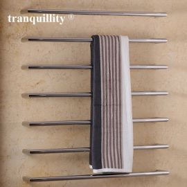時尚低壓單杆電熱毛巾架 不鏽鋼電熱浴巾架掛件