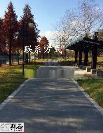 浙江杭州公園 透水混凝土價格 透水混凝土廠家 透水混凝土材