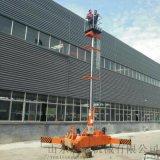 双立柱登高车芜湖市乌海市20米双梯套缸升降平台启运