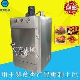舒克自动熏鸡机  SKYX-100熏鸡炉  烧鸡熏鸡设备