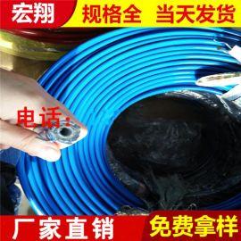 高压钢丝增强树脂液压软管 液体输送高压液压油管厂家