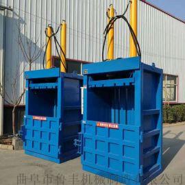 桂阳塑料立式液压打包机废纸箱80吨打包机图片