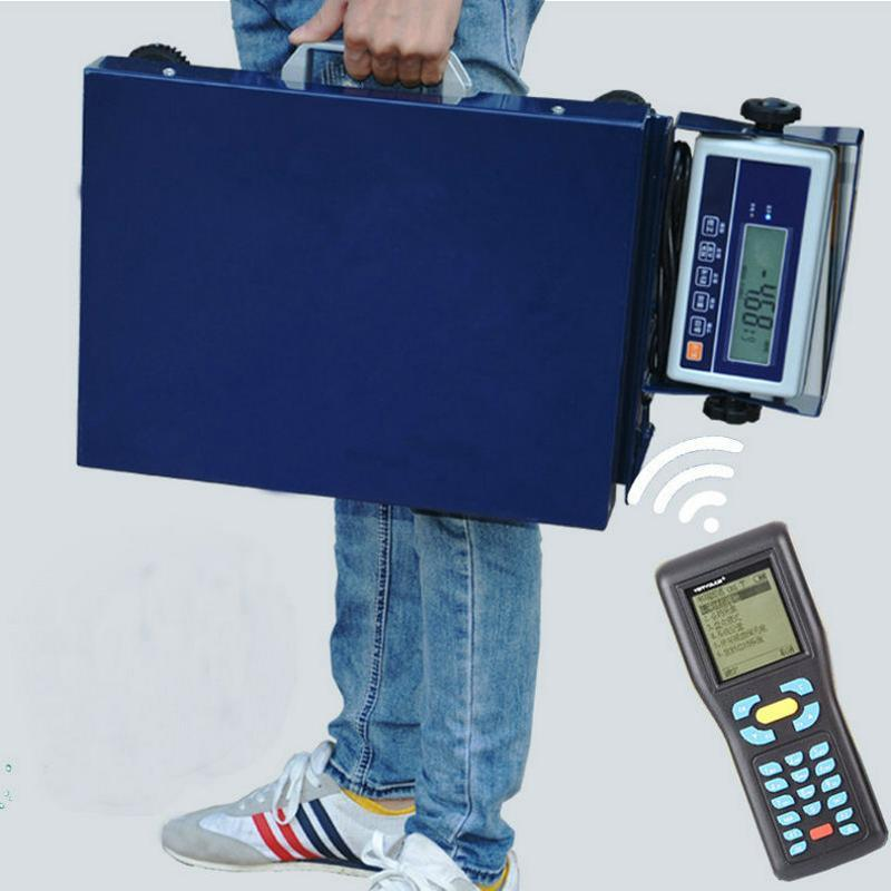 韵达快递  电子秤蓝牙电子台称便携手提式蓝牙秤100kg300公斤