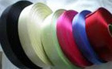 明亮絲織 單面 滌綸緞帶