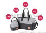 上海工廠定做大容量媽咪包oem手提包