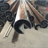 福州异型管材,不锈钢拉丝管,现货316L不锈钢管
