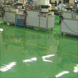 海口镜面自流平地板,**自流平地坪漆,海南宏利达