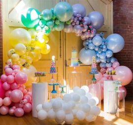 昆明花語花香慶典氣球布場氣球裝飾氣球