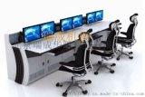 三联操作台铝合金背板监控台控制平台