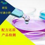 水性胶配方还原成分分析