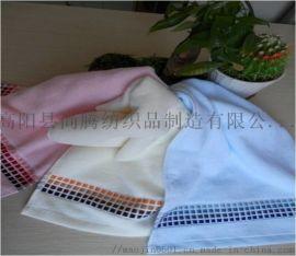 保定廠家直銷 提花 割絨 竹纖維毛巾 高檔定製