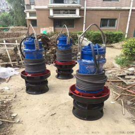 立式排污泵-高扬程潜水轴流泵