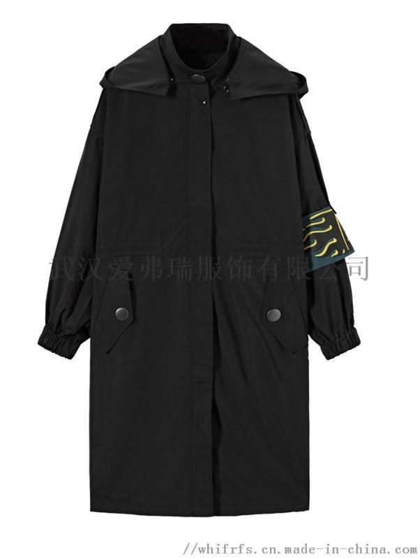 服装进货有哪些网站【现货】碧可女士休闲风衣外套