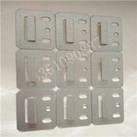 方正中号不锈钢生态木快装墙板固定件卡片