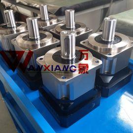 高精密斜齿轮减速机AB142-10伺服减速机