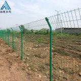 高速公路护栏网 绿色双边围栏网