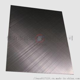 不锈钢手工交叉拉丝板 彩色不锈钢板定制加工