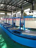 100米長大型空調生產線