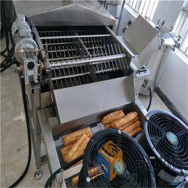 多味麻花油炸机 上门安装麻花油炸线 面包麻花油炸机