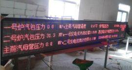 電廠環保環境資料監測LED屏