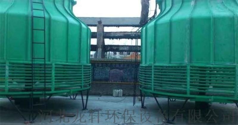 節能高效圓形逆流式玻璃鋼冷卻塔 迴圈冷卻水塔