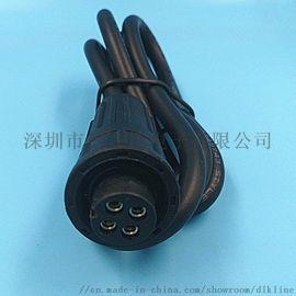 对接式航空航空插件连接器线防水插头链接器电缆插头航