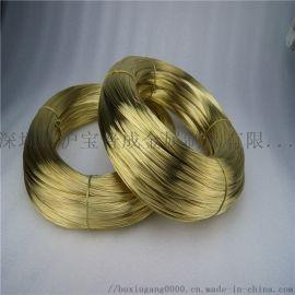 H65黄铜丝饰品专用H65青铜丝