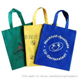 昆明广告袋购物袋定制-曲靖印字礼品袋