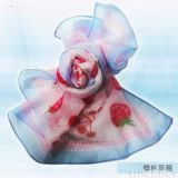 樱桃草莓丝巾(S-010)