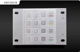 工行保管箱设备  金属加密键盘KMY35