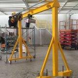 简易起重小型移动龙门吊架电动发动机龙门吊架承重1-3吨手推吊架