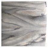 家具贴面皮仿黑白根爵士白大理石纸底部无胶表面可喷漆