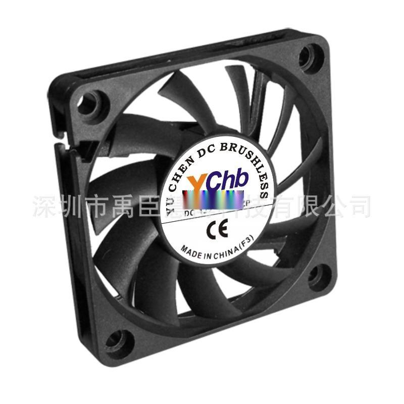 供应6010DC轴流风机 5V 12V