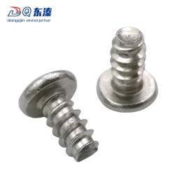 东溱厂家直销 304不锈钢十字圆头平尾自攻螺丝 不锈钢螺钉批发