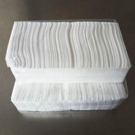 供应多种出口美国白色竹纤维水刺无纺布_湿巾材料_无纺布生产厂家