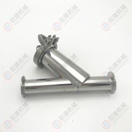 厂家直销过滤器 卫生级不锈钢Y型过滤器 快装过滤器