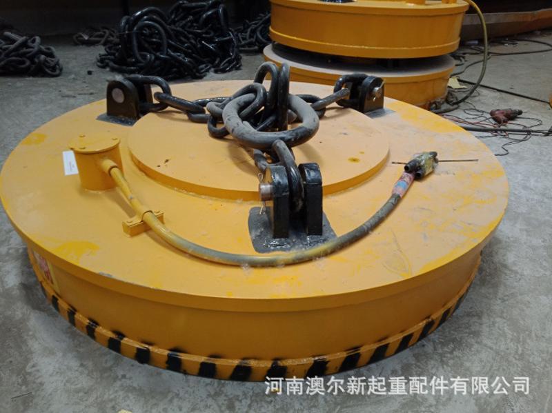起重電磁鐵吸盤 吸廢鐵電磁吸盤 質量優 牢固可靠