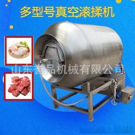 食品机械直销小型肉类腌制机 猪蹄快速腌渍机器 牛羊肉真空滚揉机