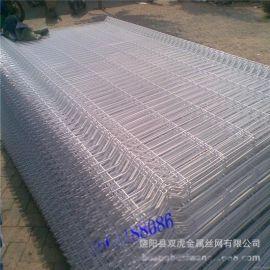 供应铁丝网隔离栏  绿色包胶护栏 围墙栅栏